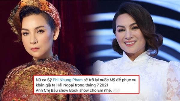 Rộ thông tin Phi Nhung chuẩn bị trở về Mỹ chạy show giữa loạt lùm xùm?