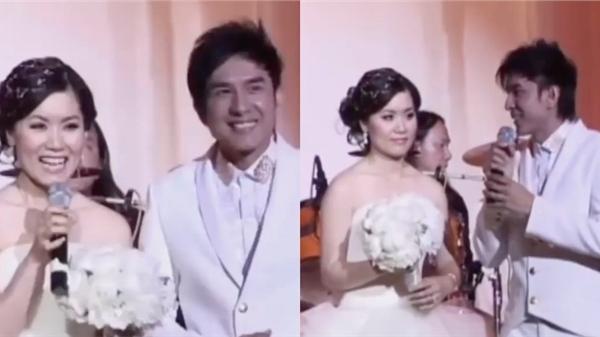 Dân tình 'đào mộ' clip Đan Trường và Thuỷ Tiên song ca cực ngọt trong đám cưới