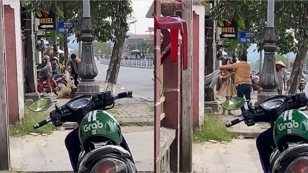 Nóng: Xôn xao clip cô gái bị bạn trai đánh ngất xỉu trước cửa nhà nghỉ nghi vì đòi quà 8/3