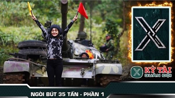 Kỳ tài Quân đội tập 2: Kỳ tài X dần hé lộ, Lan Phương điều khiển xe tăng vào hầm, Diễm Hương điều khiển xe tăng chiến đấu