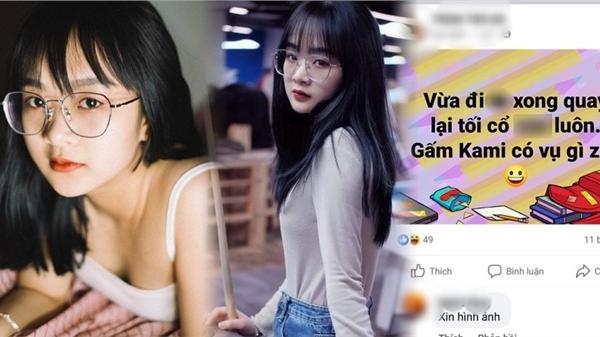 Cộng đồng mạng lan truyền tin đồn Gấm Kami lộ 'clip nhạy cảm' dài hơn 10 phút