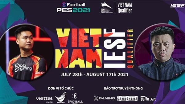 PES IeSF VIỆT NAM ngày 12/8: BOX.Tabi đối đầu ALN.Tâm Figo tại chung kết nhánh thắng