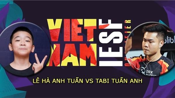 Lê Hà Anh Tuấn đánh bại Tâm Figo để bước vào chung kết PES IeSF VIỆT NAM
