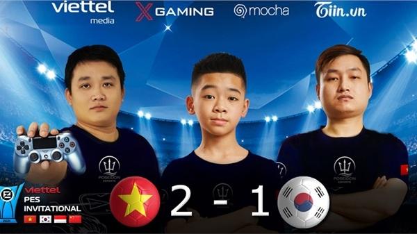 Viettel PES Invitational ngày 19/8: Đại diện Việt Nam làm 'rách lưới' Hàn Quốc với 2 kỷ lục mới