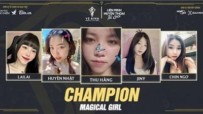 Danh hiệu vô địch giải đấu Vệ Binh Ánh Sáng chính thức gọi tên Magical Girl