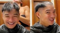 Bạn trai cũ của Chi Pu khoe mái tóc có '1-0-2' mùa dịch, vì ai mà anh bỗng hói nửa đầu?