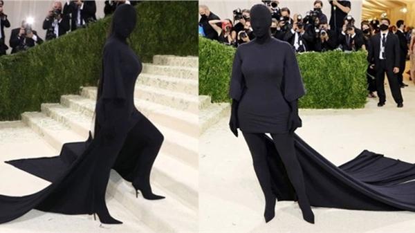 Mức giá đắt 'kinh hồn'của thứ duy nhất 'thò ra'khỏi người Kim Kardashian tại 'MET Gala 2021'