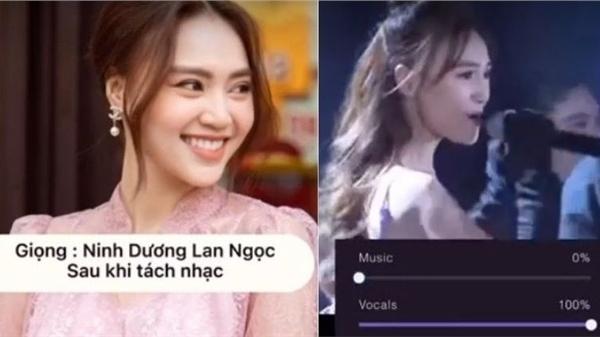 Lộ giọng hát thật của Ninh Dương Lan Ngọc sau khi tách nhạc, phản ứng của fan mới bất ngờ!